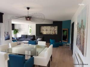 rénovation du salon séjour