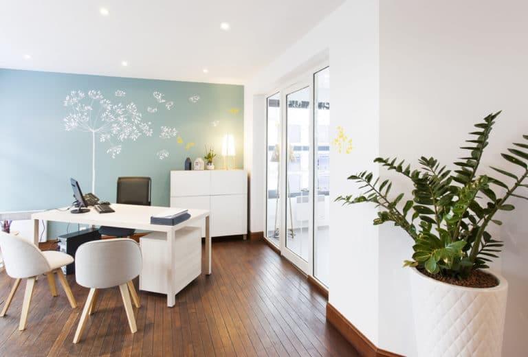 rénovation Agence immobilière Chailloux Fouesnant