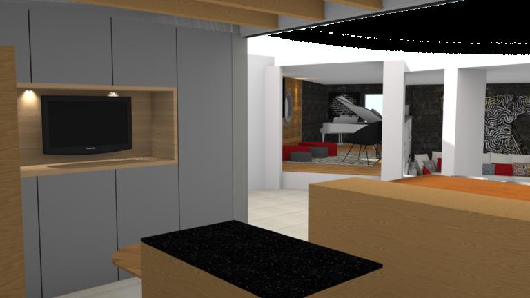3D maison Fouesnant Histoires d'Intérieurs