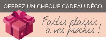 Offrez un chèque cadeau Déco par Histoires d'Intérieur, Décoratrice UFDI à Quimper 29