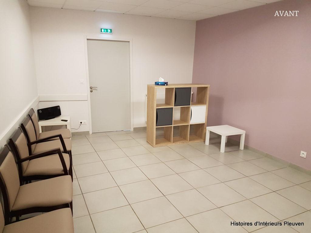 Photo chambre funéraire AVANT Histoires d'Intérieurs