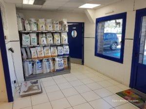 Décoration cabinet vétérinaire Plogonnec